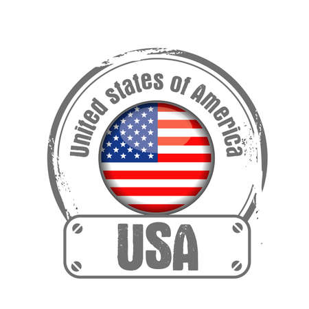 stamp USA Stock Vector - 17498415