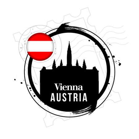 stamp Austria Vector