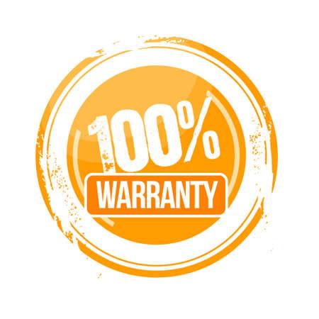 stamp Warranty Stock Vector - 17498406