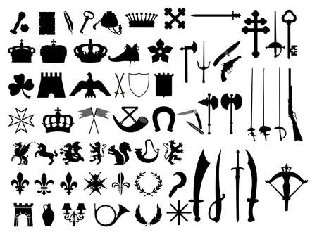 dungeon: Retro symbols