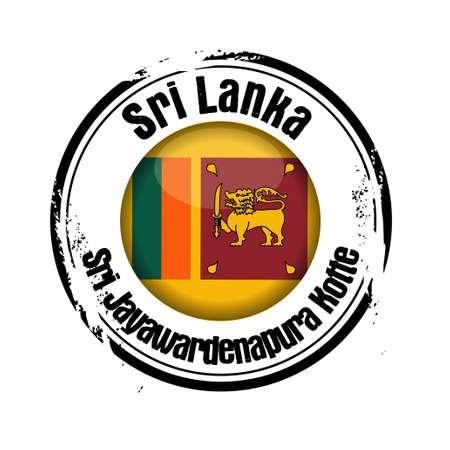 lanka: stamp Sri Lanka