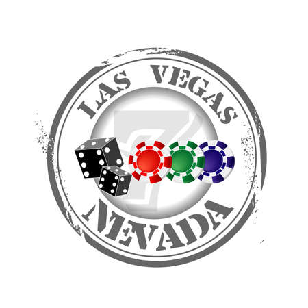 stamp Las Vegas Vector