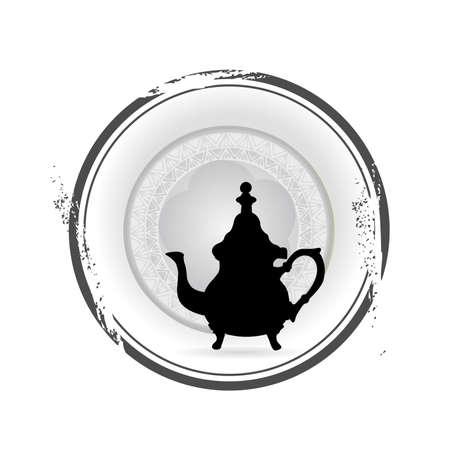 stamp Tea Vector