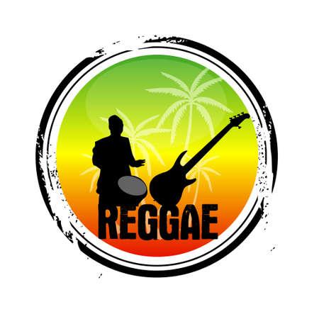 caribbean party: sello de reggae