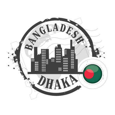 stamp Bangladesh Vector