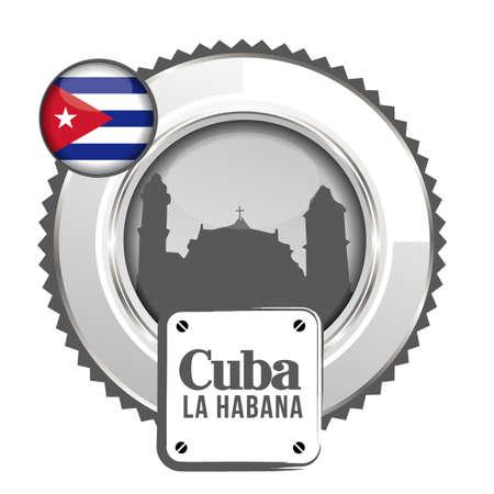 medal Cuba Stock Vector - 20644583