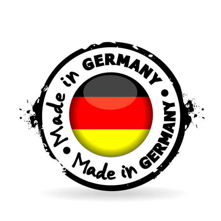 stamp Made in Germany Vector