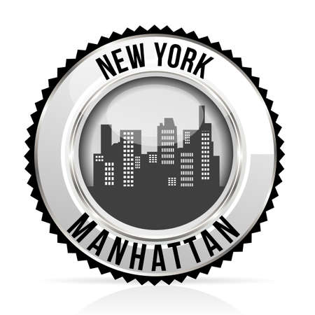 medal Manhattan Vector