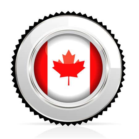 medal Canada Stock Vector - 20644547