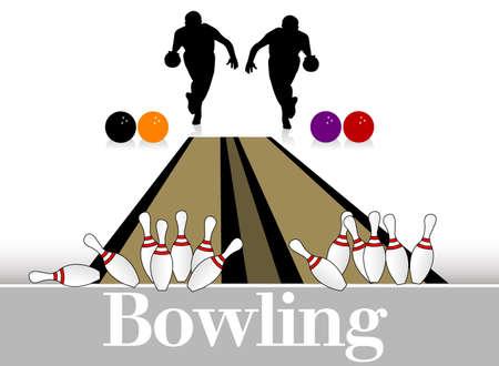 Sport   bowling Vector