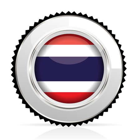 medal Thailand Vector