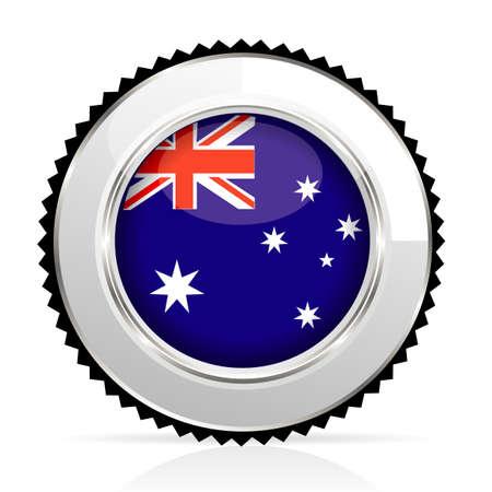 medal Australia Stock Vector - 20644566