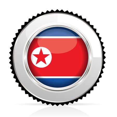 north korea: medal North Korea