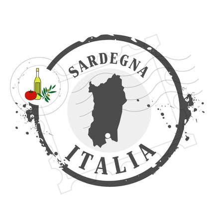 medal Sardegna Vector