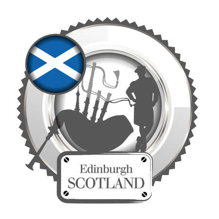 medal Scotland Vector