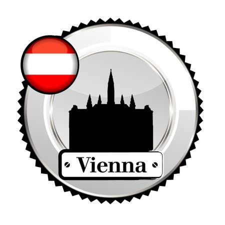 medal Vienna Vector