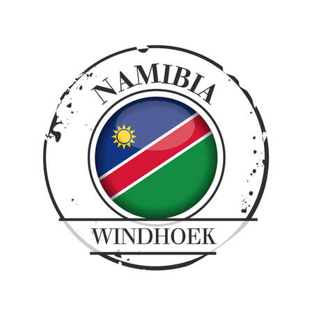 stamp Windhoek Vector