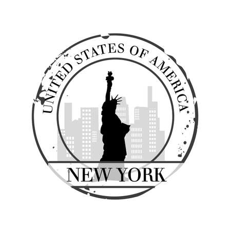 stamp New York  Stock Vector - 20855904