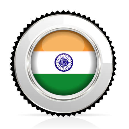 medal India Stock Vector - 20855918