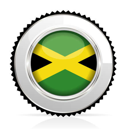 medal Jamaica Stock Vector - 20855919