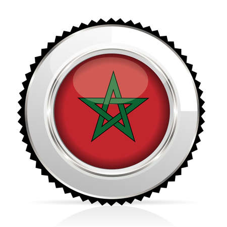 berber: medal morocco Illustration