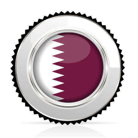 medal Qatar Stock Vector - 20855924