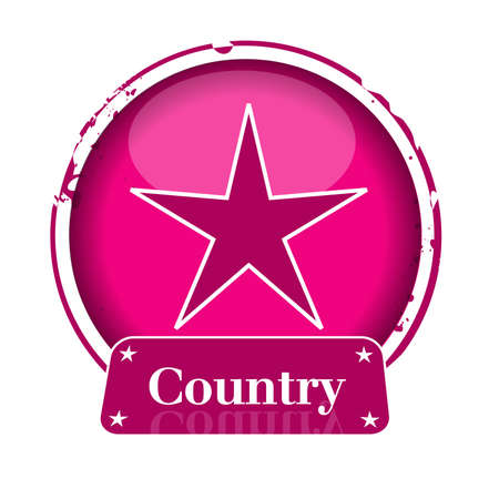 stamp country Vector