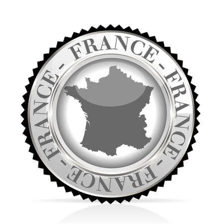 medal France Stock Vector - 20989226