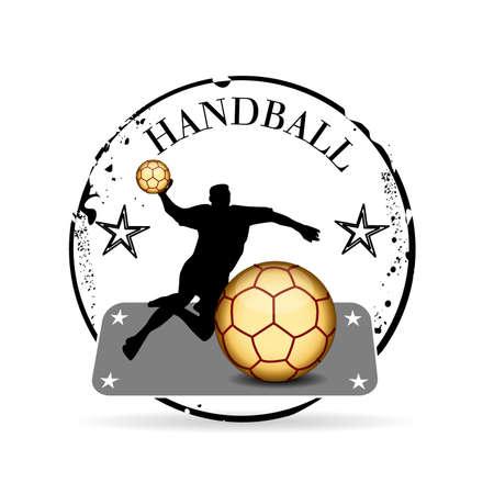 offence: stamp Handball