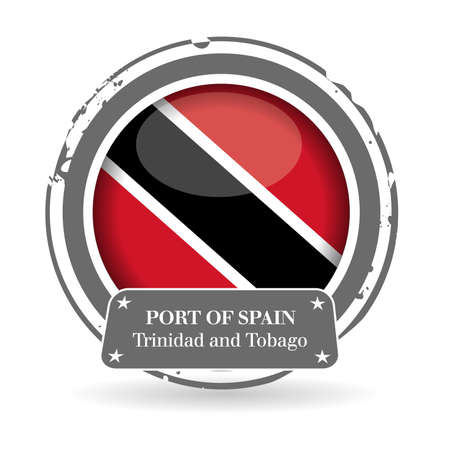 port of spain: stamp Trinidad and Tobago