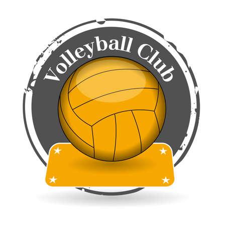 volleyball serve: estampar Club Voleibol