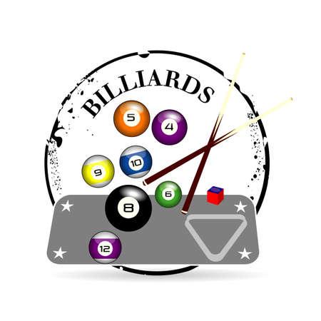 snooker cues: stamp billiards