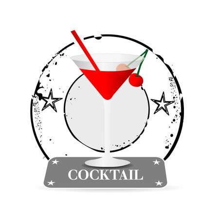 rhum: stamp cocktail