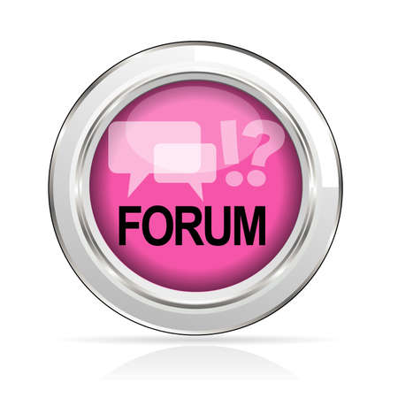 icon forum Stock Vector - 21587763