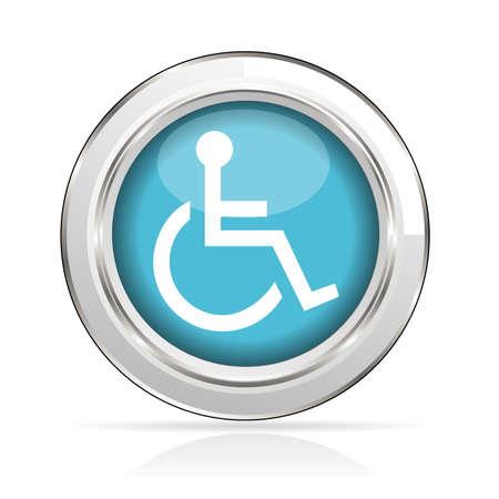 icon handicap Stock Vector - 21587766