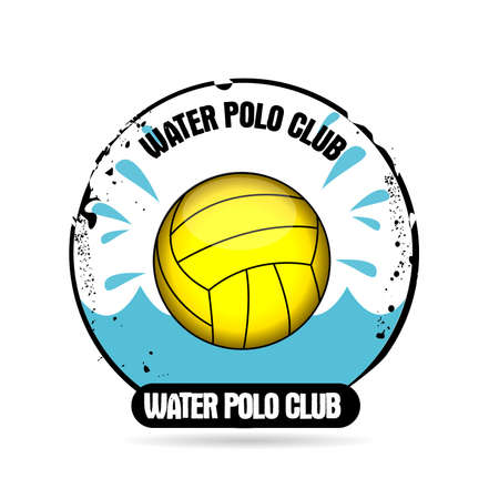 swimming cap: stamp water polo club