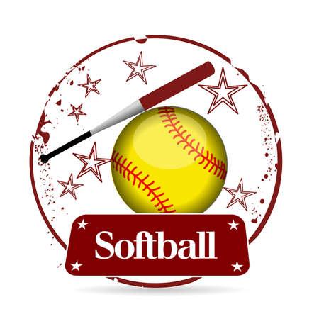 baseman: stamp softball