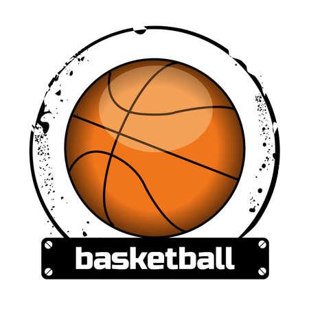 rebounding: stamp basketball