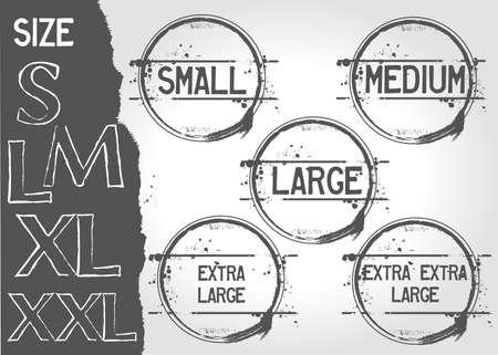 small size: El tama�o de sello