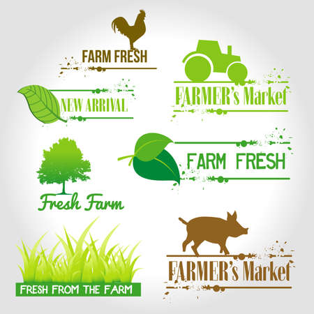 fresh from the farm Vector