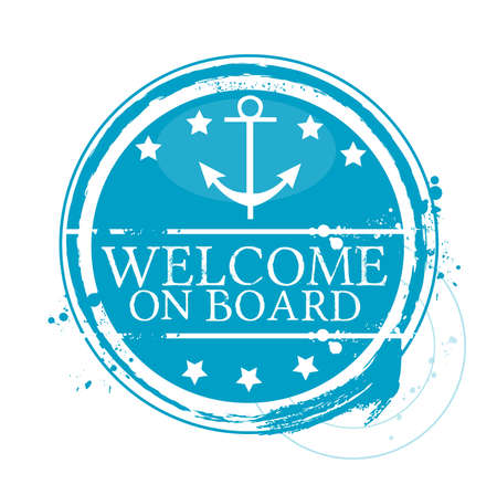 welcome on board Vector