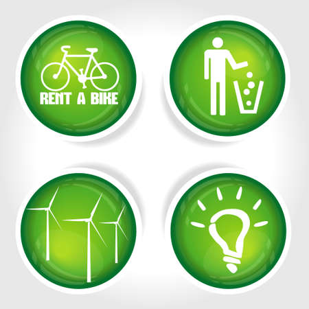 icon ecology illustration  Vector