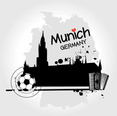 munich: Munich illustration