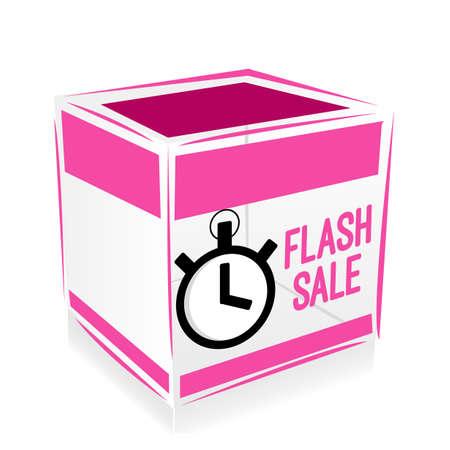 cube flash sale Vector