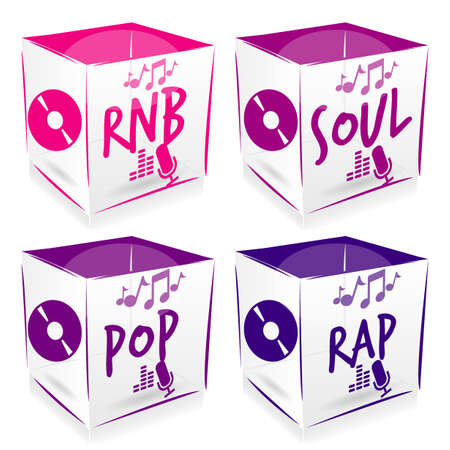 rnb: 4 cube music style