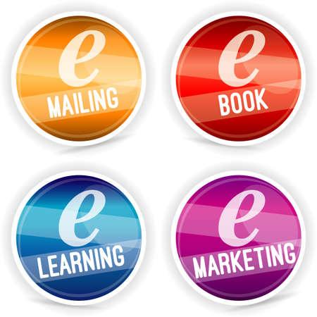 e mailing: sticker new technology