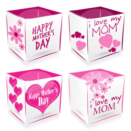 salutations: happy mothers day cubes
