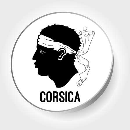 corsica: sticker corsica