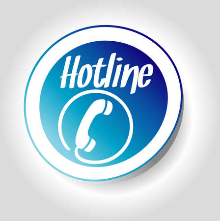 hotline: Aufkleber-Hotline