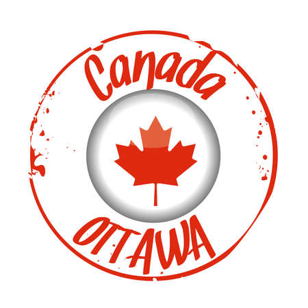 stamp Canada Vector
